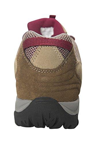 Mountain Warehouse Chaussures imperméables femme Direction Marron Clair