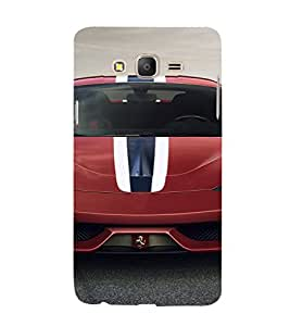 EPICCASE Ferrari Mobile Back Case Cover For Samsung Galaxy E7 (Designer Case)
