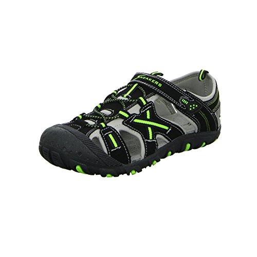Sneakers YJ027-BK 36-39 Jungen Sandalette, Größe 38.0