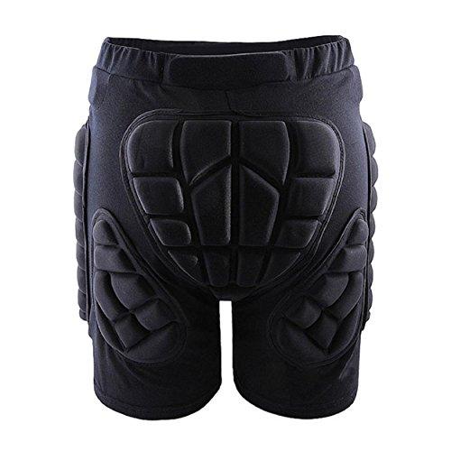 Susenstone Gear Hip esterna di protezione imbottiti Shorts Skate Pattinaggio snowboard Pantaloni (S)