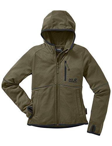 jack-wolfskin-giacca-in-pile-bambino-rock-me-nanuk-verde-burnt-olive-128-cm