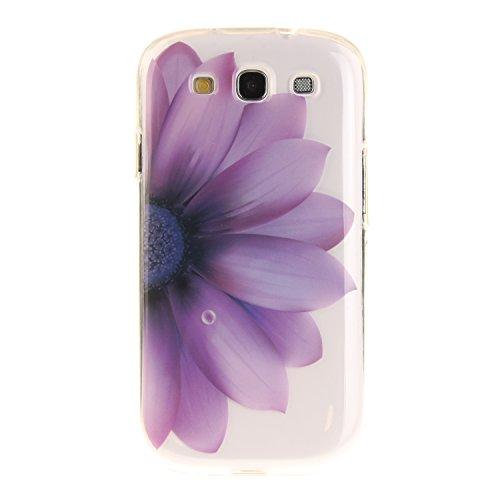 HhUu Kratzfeste Clear Durchsichtig Ultra Slim TPU Schutzhülle Bumper Tasche Cover Case für Samsung Galaxy S III / I9300 / S3 (4.8