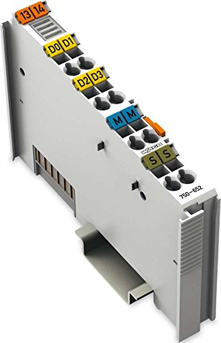 WAGO 750-652interne Serie Karte und Schnittstellen-Adapter-Karten und Adapter von Schnittstellen (Serie, RS-232/485, 115,2Kbit/s, Grau, in 61131-2IEC 60068-2-27, DC) - Rs-232c-schnittstelle