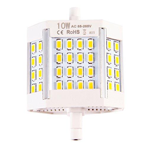 Dimmbar R7s 78mm COB SMD LED Leuchtmittel Flood Mais Licht Lampe Sicherheit LED (Mais Sicherheit)