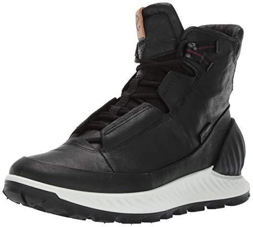 ECCO Herren EXOSTRIKEM Hohe Sneaker, Schwarz (Black/Black 51052), 44 EU
