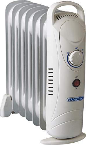 Öl Radiator 7 Rippen | Elektroheizung | Radiator Heizung | Heizkörper | Heizlüfter | Ölradiator | Heizgerät | Schnellheizer | geeignet für Haushalt Terrasse Garten Camping |