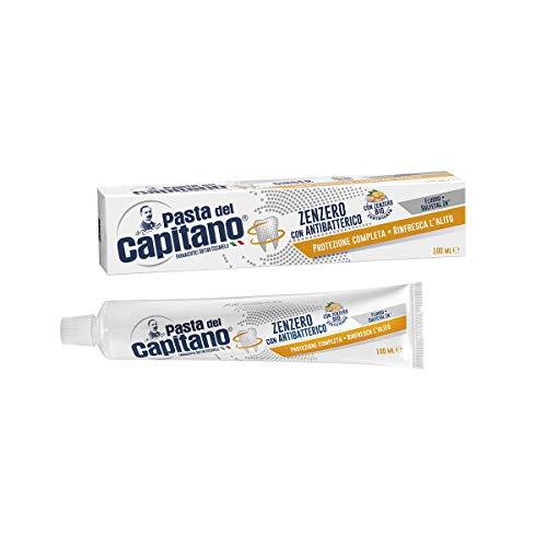 pasta del capitano dentifricio zenzero con antibatterico 100 ml