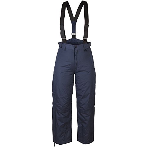 New Ski Pants Snowboarding Sking Trousers Salopettes Waterproof Windproof Warm Quality Work Camping Fishing Rainwear Trips REGULAR LEG NAVY 36
