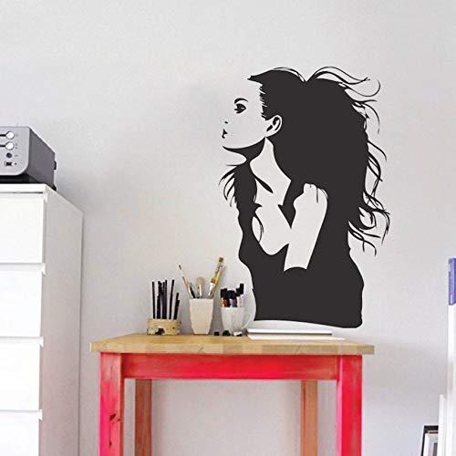 Hwhz 42X65 Cm Für Star Film Angelina Jolie Wandaufkleber Berühmte Porträt Vinyl Wand Schauspielerin Mädchen Schönheitssalon Dekoration Kunst