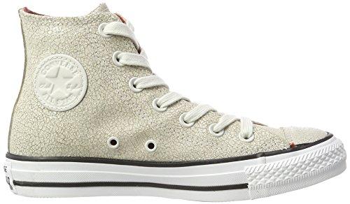 Converse Chuck Taylor All Star, Sneaker a Collo Alto Unisex-Adulto Beige (Pale Putty/Black/White)