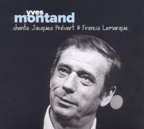 Yves Montand chante Jaques Prévert et Francis Lemarque