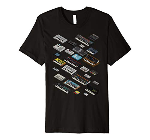 Synthesizer and Drum machine Fan T shirt