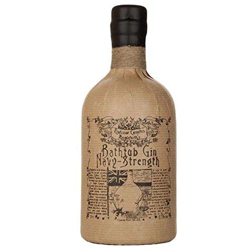 Badewannen-Gin Navy Strength von Professor Cornelius Ampleforth 70cl - (Packung mit 6)