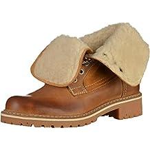 8754f3fa60aa Mustang Shoes Boots in Übergrößen Braun 2837-609-307 große Damenschuhe