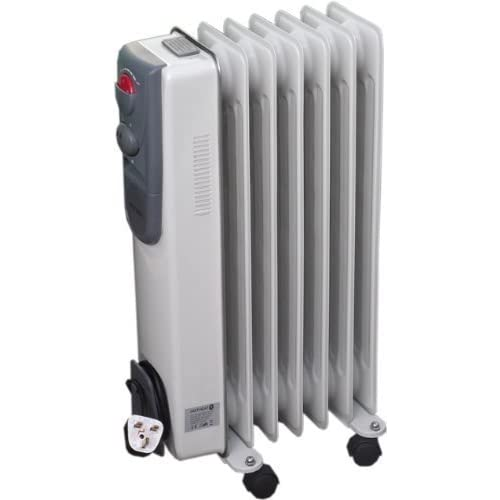 4137ACGBi6L. SS500  - 7 Fin 1500W Portable Electric Oil Filled Radiator Electrical Caravan Heater 240V