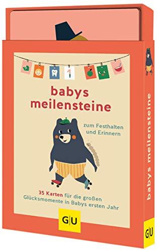 Babys Meilensteine: 35 Karten für die großen Glücksmomente in Babys erstem Jahr zum Festhalten und Erinnern (GU Buch plus Partnerschaft & Familie)