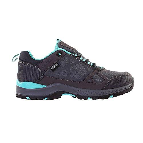 McKINLEY Damen Trekking Wander Outdoor Schuhe Kona III Low Boots Aquamax 274493, Größe:41, Farbe:900 BLACK/ANTHR/MINT - Schwarz Grau Mint