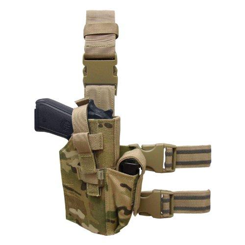 CONDOR TLH-008 Tactical Leg Holster MultiCam (Holster Leg Tactical Condor)