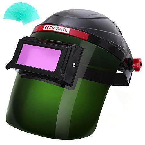 Casco de Soldadura Oscurecimiento automático Escudo de Soldadura, Máscara y Casco de Soldadura Solar, Ojo Protector Soldador Proteger la Cara Aislamiento Proteccion de radiacion Pantalla de máscara