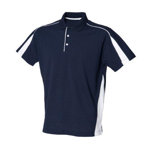 Finden & Hales - Polo Sportiva - Uomo Blu navy/Bianco