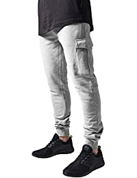 Urban Classics Herren Hose Fitted Cargo Sweatpants
