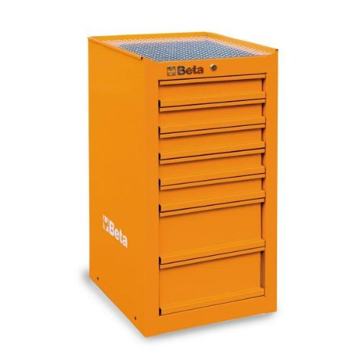 Beta C38 Lo Seite Kabine mit 7-drawers – Orange
