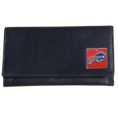 Siskiyou Gifts Co, Inc. NFL Leather Wallet Damen, Damen, Buffalo Bills, One Size Fits All