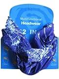 Multifunctional Headwear Purple Splatter
