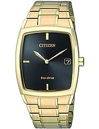 Citizen Herren-Armbanduhr Analog Quarz Edelstahl beschichtet AU1072-87E
