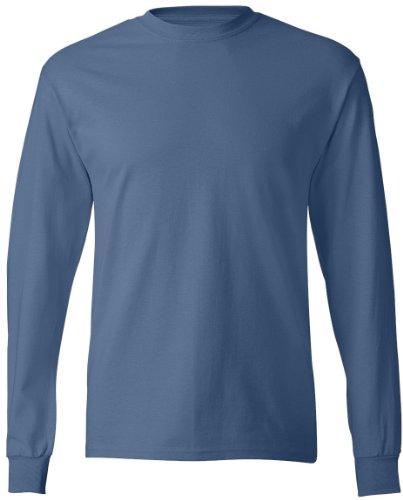 Tattoo Mutter auf American Apparel Fine Jersey Shirt Blau - Denim Blue