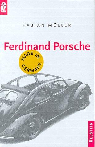 Ferdinand Porsche Buch-Cover