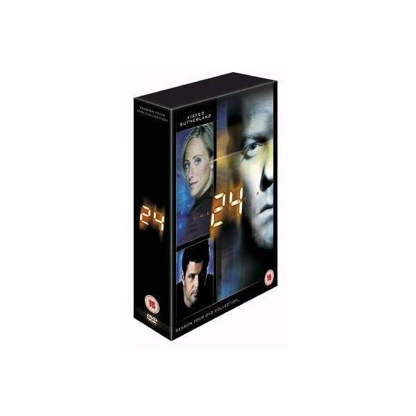 24: Season Four DVD Collection [DVD] 4137FTEGWJL