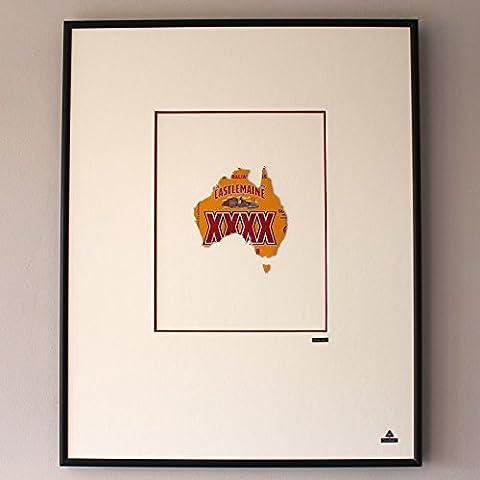 Martin Allen Can Art Castlemaine XXXX-Mappa dell