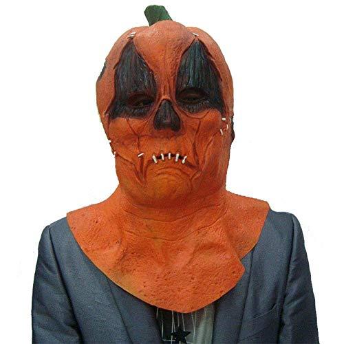 Ferien Tanz Performance Kostüm - KEMANDUO Halloween Horror Maske Horror Latex