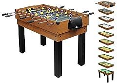 1PLUS umfangreicher Multifunktionsspieltisch Tischkicker-Multifunktionstisch  10
