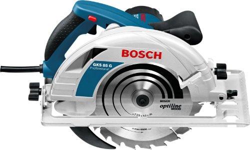 Bosch Professional Handkreissäge GKS 85 G (Sägeblatt, Absaugadapter, L-BOXX, 2200 Watt, Sägeblatt-Ø: 235 mm) - 2