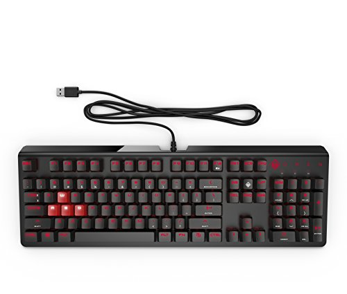 Foto OMEN by HP HP Omen 1100 Tastiera da Gaming, Funzione Anti-Ghosting con...