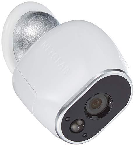 4137IB2LxlL [Bon Plan Netatmo] Arlo - Smart Caméra de surveillance - Pack de 3 - Kit de Surveillance 100% sans Fil, HD, Vision Nocturne, Etanches Intérieur/Extérieur, Fixations Aimantées Fournies l VMS3330-100EUS