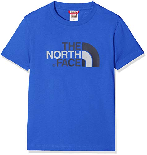 The North Face Y S/S Easy Tee T shirt Bambino Blu S