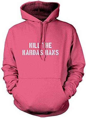 Kill The Kardashian-Felpa con cappuccio per bambini e giovani Pink 12-13 Anni
