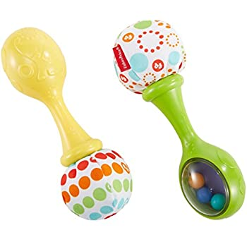 Fisher-Price BLT33 Rattle and Rock Maracas: Amazon.co.uk: Baby
