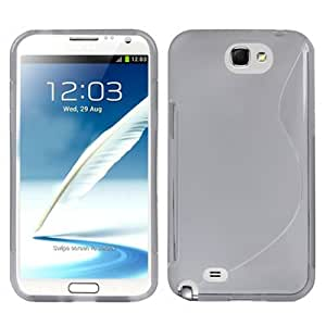 S Line TPU Case for Samsung Galaxy Note 2 N7100 (Grey)