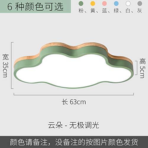 Led ultradünne einfache Schlafzimmer Studie Lampe Wolke 63 endlos grün -