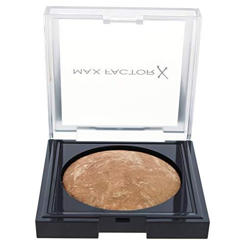Max Factor Cream Bronzer Bronze 10 - Bronzing Powder für einen sonnengeküssten Glow - natürlicher Bräunungseffekt durch Farbnuancen - 1 x 3 g