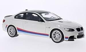 BMW M3 (E92 M), blanche/Décorer, voiture miniature, Miniature déjà montée, GT Spirit 1:18