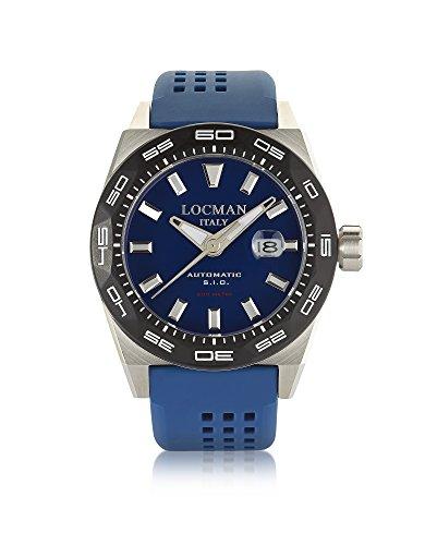 LOCMAN Herren 0215V30kblnks2b Blau Stahl Uhr