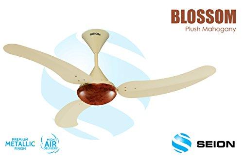 Seion Ceiling Fan Blossom Plush Mahogany 1200 mm