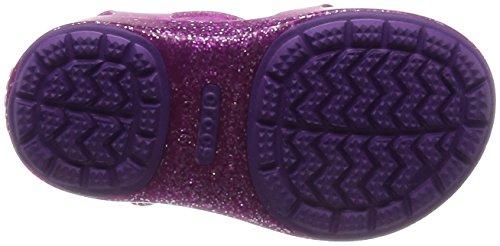 Crocs 204529, Sabots Fille Violet (Vibrant Violet)