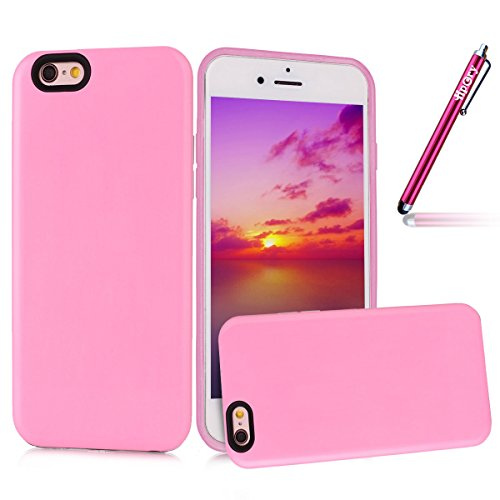 iphone-6-6s-plus-hulle-hpory-iphone-6-6s-plus-55-zoll-dual-layer-stossfeste-stossdampfer-hulle-pink-