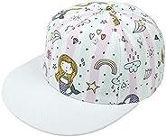 Happy Cherry - Gorra de béisbol para bebé o niña, ajustable, antisol, gorra de sol deportiva, 2 a 8 años